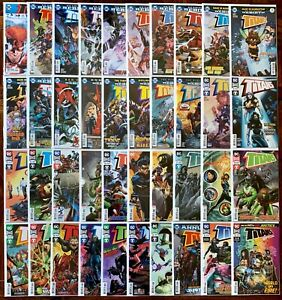 Titans Rebirth #1-36 complete series + Annuals & Special. 40 issues in total.