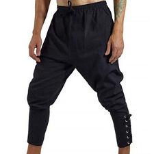 Herren Baggy Jogginghose Sport Hosenträgern Harem Style Freizeithose Sweatpants