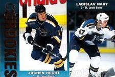 1999-00 Omega Gold #203 Jochen Hecht, Ladislav Nagy