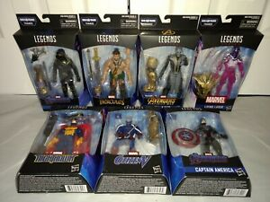 Marvel Legends Avengers Endgame Thanos BAF COMPLETE ALL MISP Ronin Hercules Maw