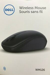 Dell - WM126 - Wireless Optical Mouse - Black