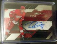 Detroit Red Wings Dylan Larkin ROOKIE 2015-16 UD Black Pro Pen AUTO.....MINT!!!