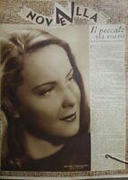 NOVELLA N.7 1942 ALIDA VALLI