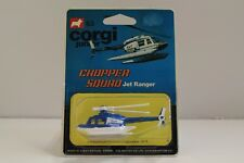 "Corgi Junior No: 63 ""Chopper Squad Jet Ranger"" - Blue (UNOPENED/Original 1978)"