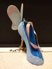 Disney parks Runway Shoe Ornament Blue Fairy