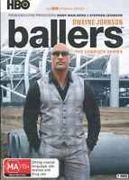 Ballers Complete Series DVD NEW Box Set Region 4 Dwayne Johnson