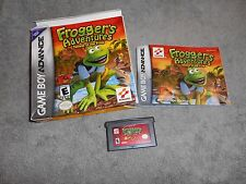 Frogger's Adventure: Temple of the Frog Nintendo Game Boy Advance, 2001 Complete