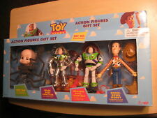Disney Original Toy Story Action Figures Gift Set - Baby Face, Buzz, Woody 1996