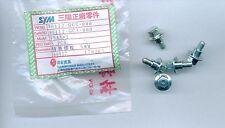 2 St. Bundschrauben M5 x13 mit 5mm Absatz ET: 90112-GC3-000 Honda: 2502284
