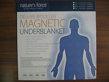 WOOL MAGNETIC MATTRESS PAD-Merino Wool Deluxe Magnetic Mattress Pad-(Queen Size)