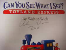Can You See What I See? Toyland Express SIGNED by Walter Wick (2011, Hardcover)