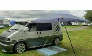 CAMPERVAN AWNING SUN CANOPY SUNSHADE VW VOLKSWAGEN T4 T5 T6 FITS 4MM OR 6MM RAIL