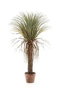 artplants Künstliche Yucca FORMOSA, 110cm - Kunstpalme / Deko Palme