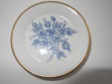 Piccolo guscio piatto Ø 9,5 cm Blu dipinta a mano WINTERLING Röslau Vintage Oro