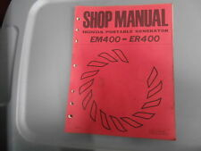 Honda Factory Shop Manual Portable Generator EM400 ER400 6187001