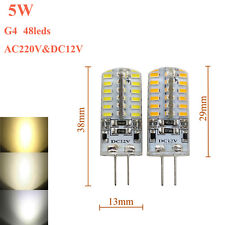 G4 3W 5W 7W 9W LED Bulbs Lights SMD Cool/Day/Warm White Dimmable Lamps 12V 220V
