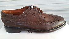Men's Luxury shoes Florsheim Duckie Brown Broken Brogue Brown US 9.5 D