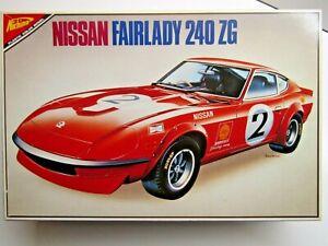 Nichimo Vintage 1:24 Scale Nissan Fairlady 240ZG Model Kit New Rare Motorisable