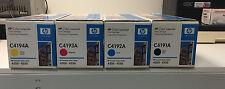 HP Toner C4191A C4192A C4193A C4194A  Cartridges