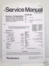 Technics Original Service Manual Schematics SA-EH760 Tuner/Amplifier