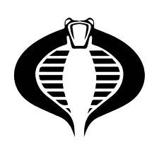 Decal Vinyl Truck Car Sticker - G.I. Joe Cobra Symbol