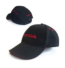 Genuine Honda Black & Red Baseball Cap