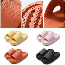 Anti-Slip Pillow Slides Sandals Soft Slippers Height Boosting Home Outdoor Shoes