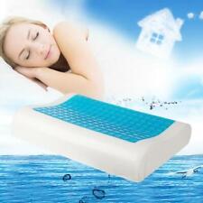 Memory Foam Bed Pillow With Cooling Comfort Gel Orthopedic Sleep Reversible New