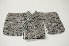1/4 Bjd Msd Short Kimono top - indigo beige traditional wave