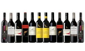 Best Seller Cabernet Sauvignon Varietal Mixed Wine Pack - 12x750mL FREE SHIPPING