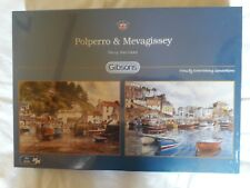 Two brand new jigsaw puzzles: Polperro and Mevagissey by Terry Harrison