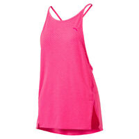 Puma Dancer Yoga Tank Top with Loose Fit in Pink - 39% OFF RRP