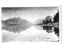 REFLECTIONS LAKE MCDONALD, GLACIER NATIONAL PARK,  1930'S.