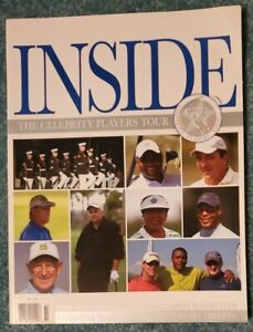 """""""INSIDE"""" 2006 OFFICIAL YEARBOOK OF THE CELEBRITY PLAYERS TOUR: GOLF, 10th ANNIV"""