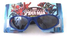 Marvel Ultimate Spider-Man Web-Warriors Blue Sunglasses 100% UV Protection NWT
