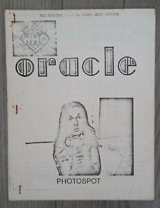 Oracle Issue 4 Doctor Who Fanzine Nov/Dec 1977