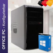 OFFICE Büro PC Athlon 3000G zum Konfigurieren  8 - 16GB RAM und Win 10 Pro WOW