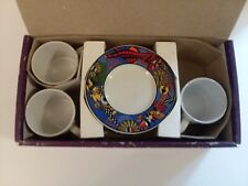 Verona Espresso Demitasse Cup by Sakura and Sue Zipkin Set of 3 Masquerade