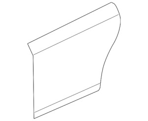 Genuine GM Outer Panel 20946714