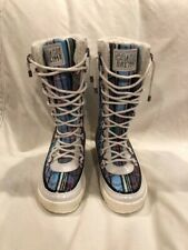 Coach winter ski snow lined boot
