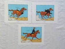 Lot 3 Ex libris Tintin Coke en Stock / HERGE MOULINSART 2011 / BD