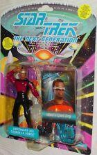 Lieutenant J.G. Geordi LaForge Star Trek The Next Generation Action Figure NIB