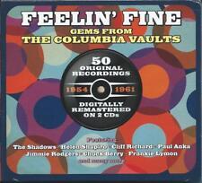 Feelin' Fine - Gems From The Columbia Vaults - 50 Original Recordings 2CD NEW