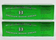 2 Bath Body Works CO Bigelow by Proraso PREMIUM SHAVE CREAM Eucalyptus Oil 5.2oz