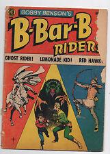ME  BOBBY BENSON'S B-BAR-B RIDERS  13  1952  FRAZETTA COVER  GHOST RIDER