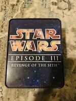 """Star Wars Episode III Revenge Of The Sith Commemorative Tin """"Pre-Owned"""""""