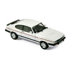 NOREV 270562 FORD CAPRI Mk.III 2.8i Injection model road car white 1984 1:43rd