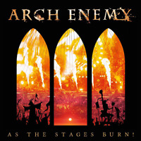ARCH ENEMY-AS THE STAGES BURN!-JAPAN DVD+CD I98 zd