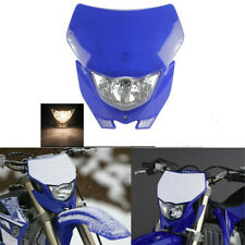 Universal Blue Motocross Off Road Headlight Fairing For Yamaha WR450F