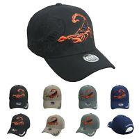 SCORPION Baseball Cap Fashion Casual Hats Adjustable Caps Hip Hop Outdoor Sports